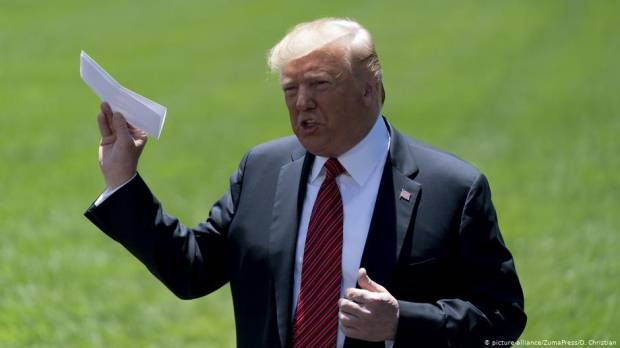 Trump inadvertently reveals details of Mexico migrant deal