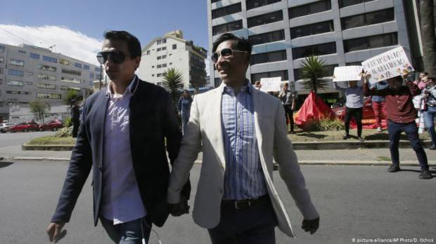 Same-sex marriage approved by Ecuadors highest court