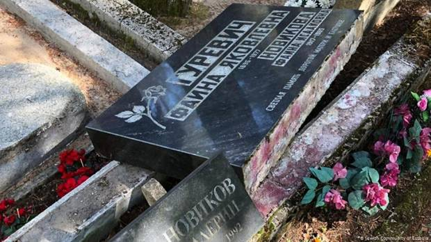 Jewish cemetery vandalized in Estonia