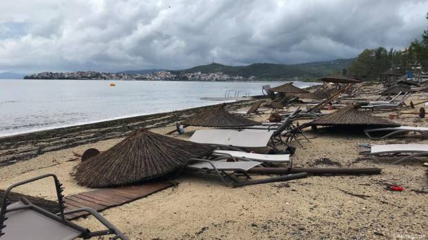 Several killed in heavy storms in northern Greece