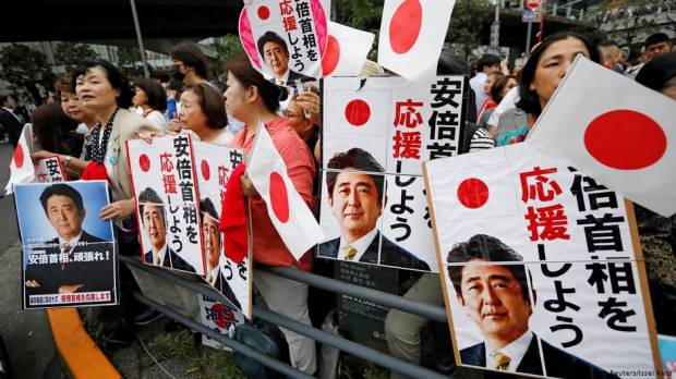 Japan PM Abes party favorite to win upper house