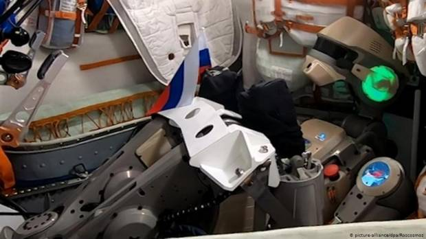 Russian robot Fedors capsule fails to dock at ISS
