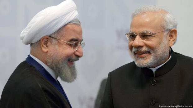 Modis diplomatic tour de force meets Irans Rouhani