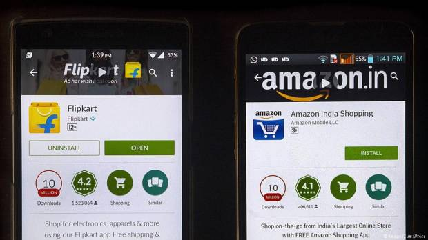 Flipkart vs. Amazon — the online retail battleground heating up in India