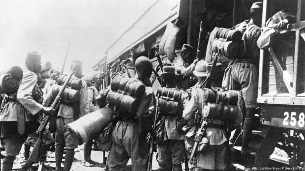 World War I: The Black Army that marched in from Africa