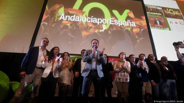 Spanish far-right on the rise after gains in Andalusia?