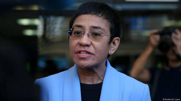 Rapplers Maria Ressa: Duterte government weaponizing information and law
