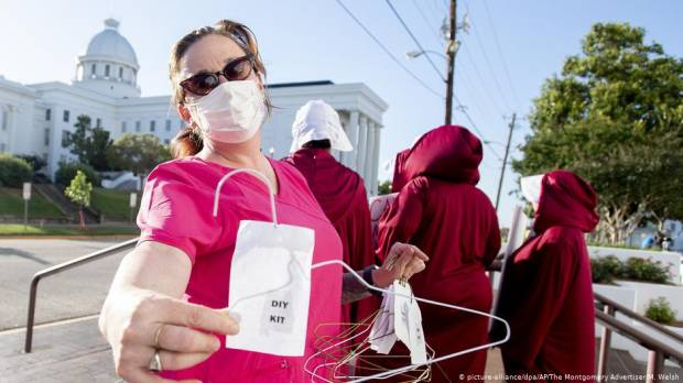 Alabama gears up for abortion fight activists thought was history