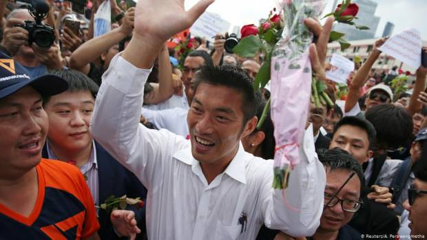 Thai opposition leader Thanathorn defiant after losing out in PM vote