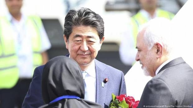 Japan PM Shinzo Abe in Tehran to defuse US-Iran tensions