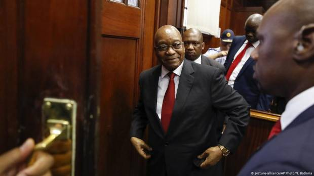 South Africa: Zuma agrees to cooperate with inquiry after threatening to withdraw