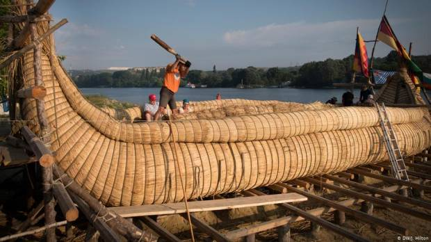 German Stone Age sailor to cross seas in reed boat