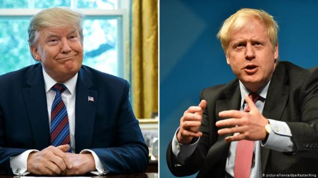 Trump or Europe — Boris Johnsons G-7 balancing act
