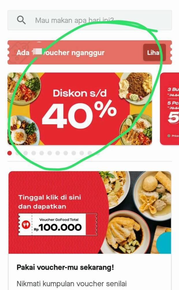 Asik! Makin Banyak Makanan Murah di GoFood Exclusive