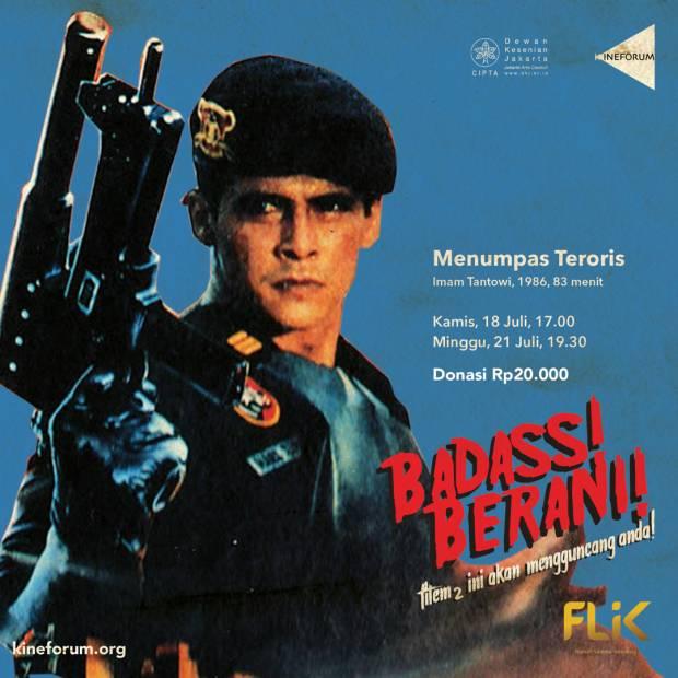 Kineforum Putar Film dan Diskusi B Movie Indonesia Beradegan Aksi dan Desah, Hanya untuk Dewasa