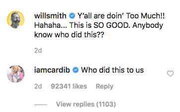 Kocak, Video Cardi B Berubah Jadi Will Smith ini Jadi Viral