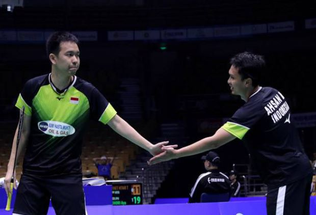 Ahsan/Hendra Optimistis Tatap Olimpiade 2020 Usai Juarai New Zealand Open