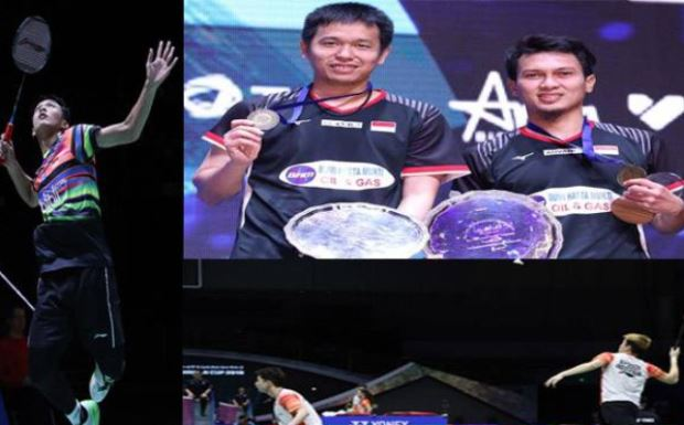 Rebut 9 Gelar, Indonesia di Posisi ke-4 Klasemen BWF World Tour