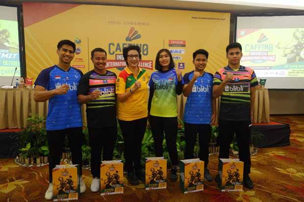 306 Atlet Ramaikan Caffino Indonesia International Challenge