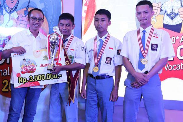 2 Wakil Jateng Raih Gelar Kompetisi AHSC for Vocational School 2019