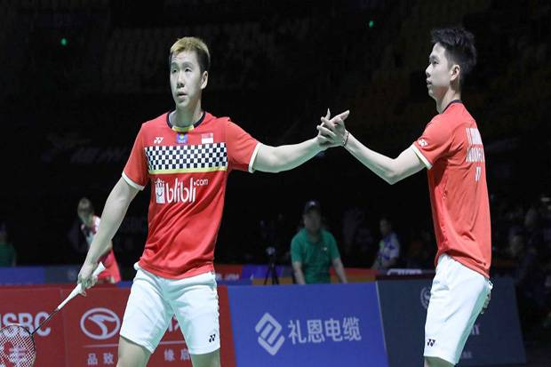 Kevin/Marcus Juara Fuzhou China Open 2019