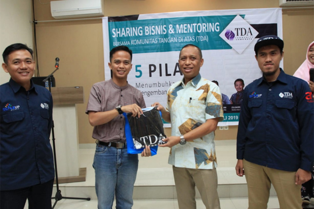 Sharing Business and Mentoring Diharap Tumbuhkan Jiwa Pengusaha