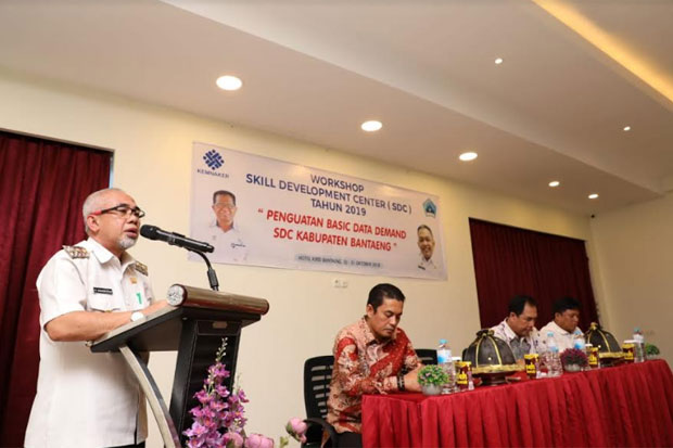 Workshop Skill Development Center Tingkat Nasional Berlangsung di Bantaeng