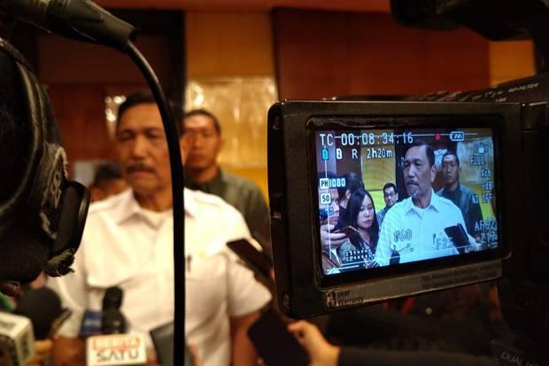 Menteri Koordinator Bidang Maritim dan Investasi Luhut Binsar Pandjaitan. Foto/SINDOnews