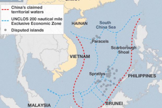 Kapal China Buntuti Kapal Malaysia di Laut China Selatan