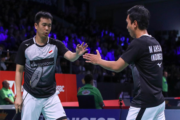 Gilas Ganda China, Hendra/Ahsan Melaju ke Perempat Final China Open 2019