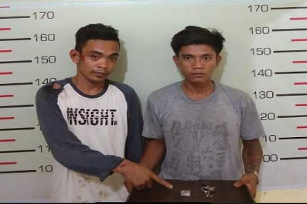 Nyamar Jadi Penarik Becak Barang, Dua Pemilik Narkoba Ditangkap