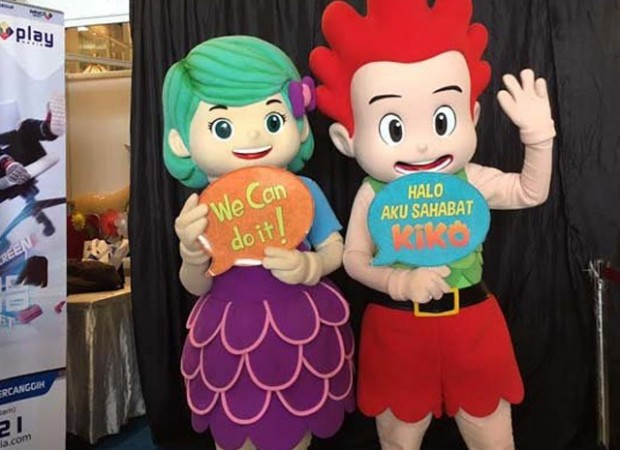 Streaming INews: VIDEO: MNC Animation Gelar Event Kiko Bubbletastic