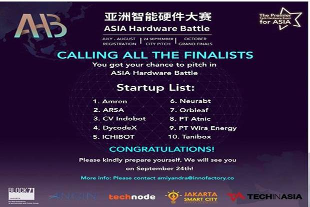 Start Up Binaan AMIKOM Jadi Finalis Asia Hardware Battle