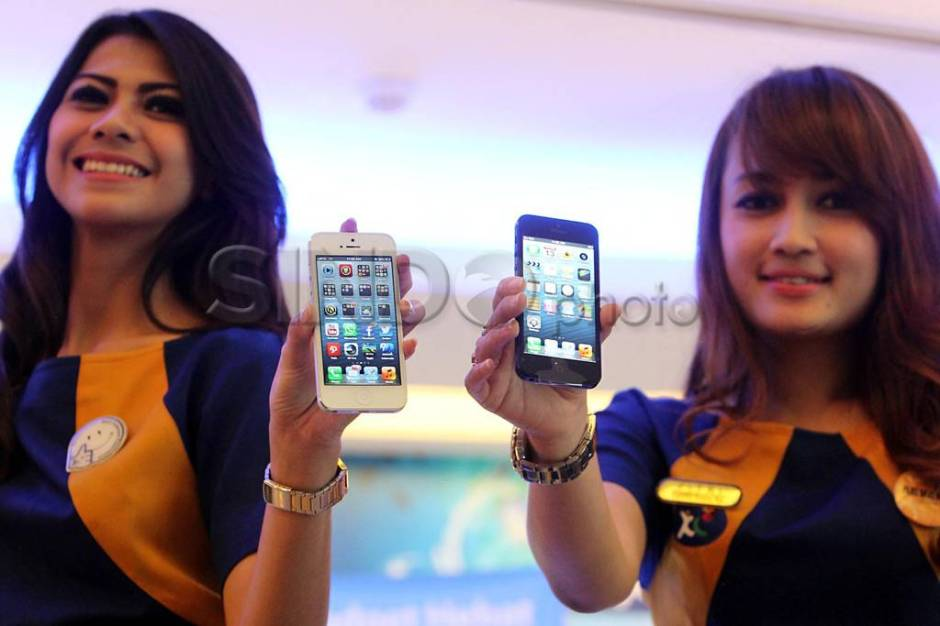 XL Luncurkan iPhone 5-0