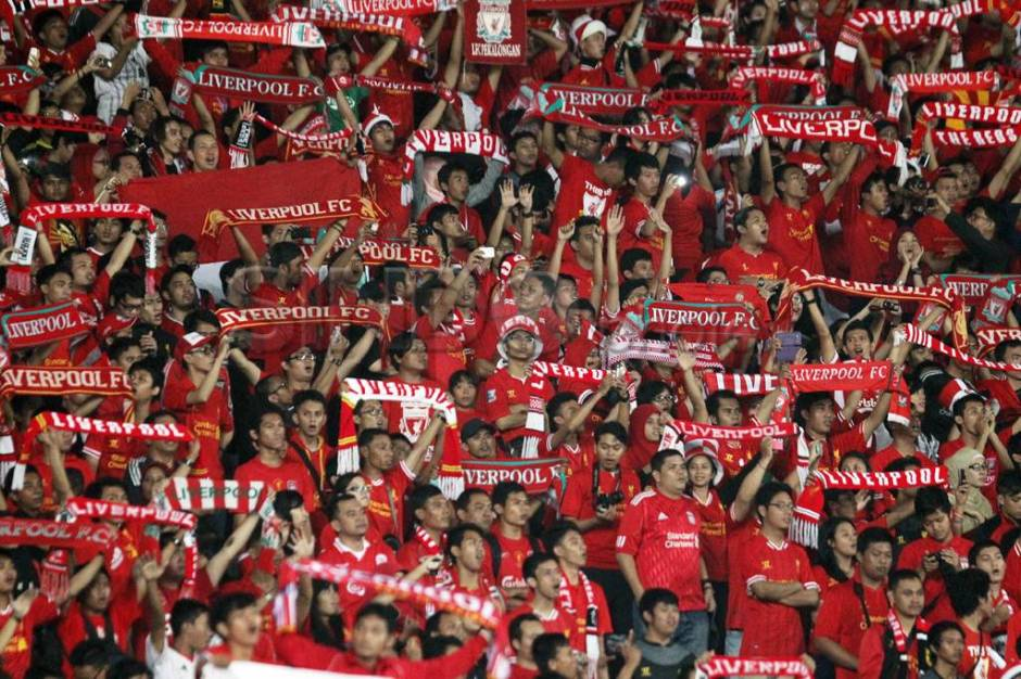 The Reds tundukkan Indonesia XI 2-0-4