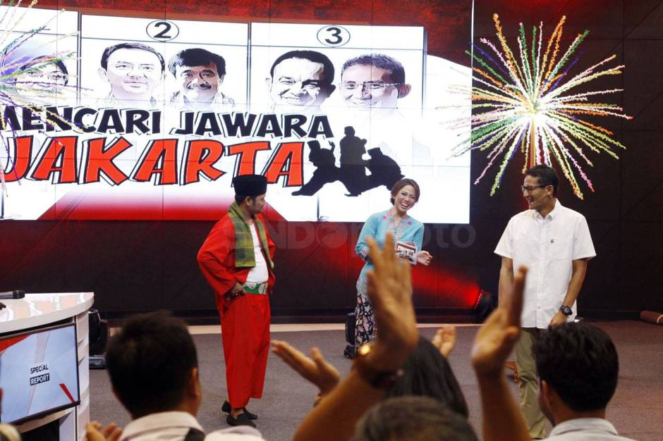 Cawagub Sandiaga Uno Tampil di Special Report iNews TV-0
