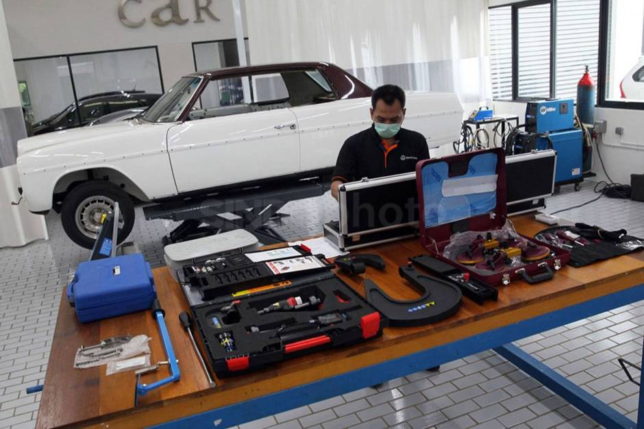 Mercedes Benz Resmikan Fasilitas Body dan Paint Centre-3