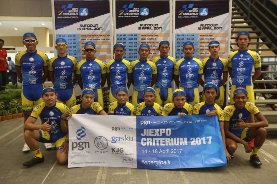 PGN Road Cycling Team Ikuti JIExpo Criterium 2017-3