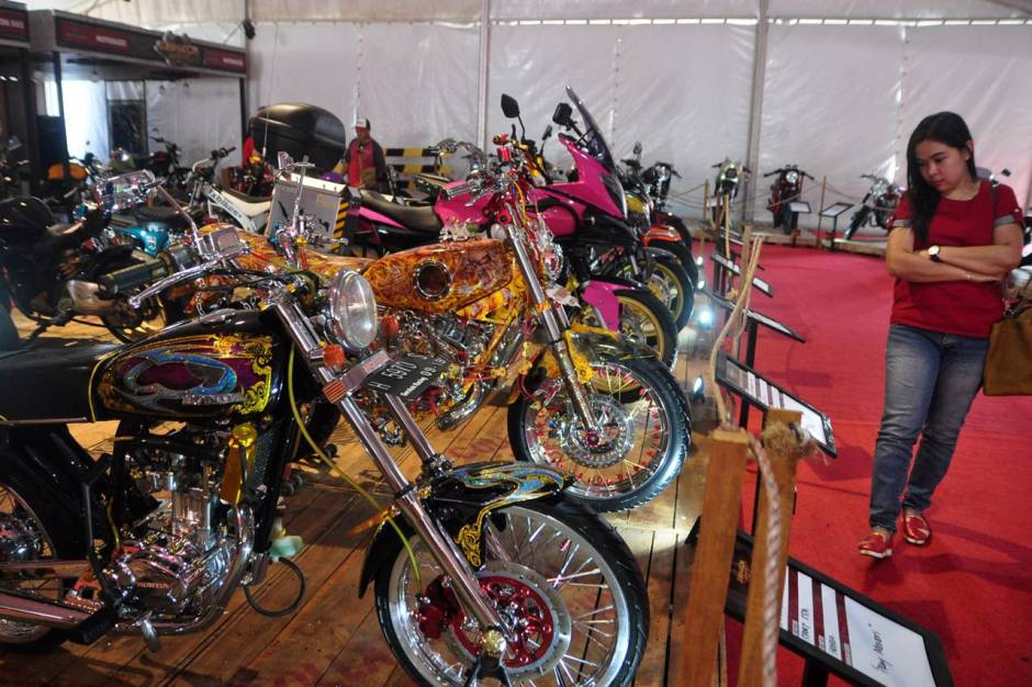 Ratusan Motor Modifikasi Ramaikan Custom Culture-1