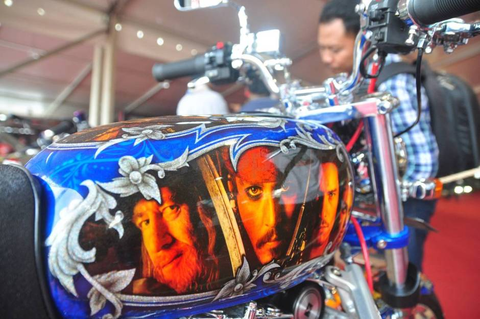 Ratusan Motor Modifikasi Ramaikan Custom Culture-2