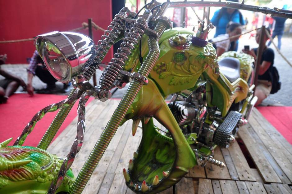 Ratusan Motor Modifikasi Ramaikan Custom Culture-3