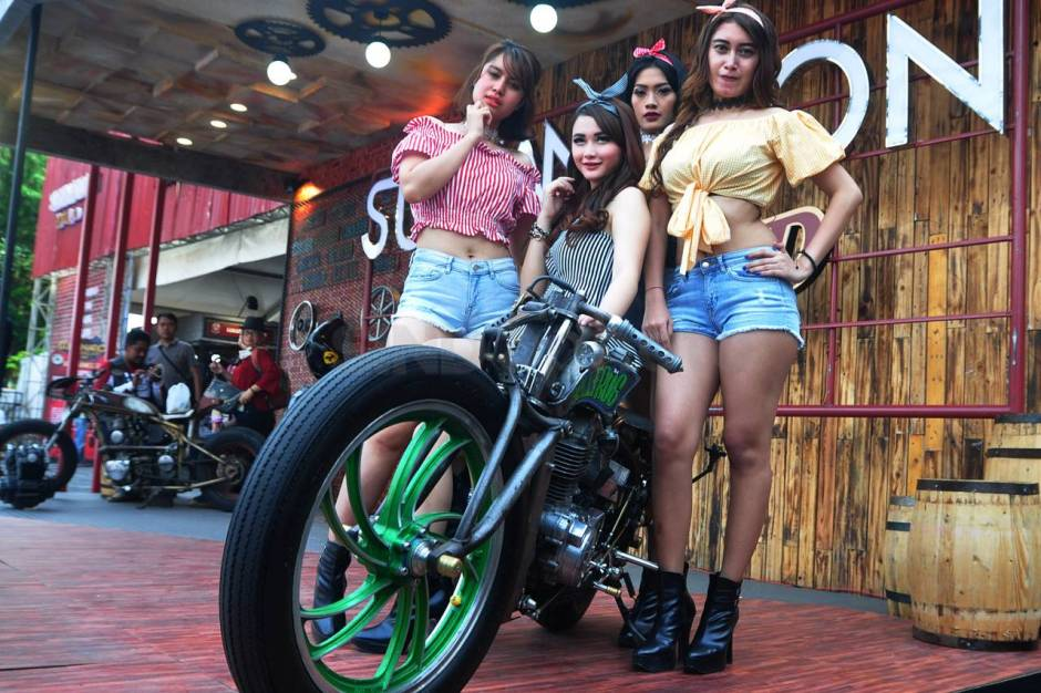 Ratusan Motor Modifikasi Ramaikan Custom Culture-4