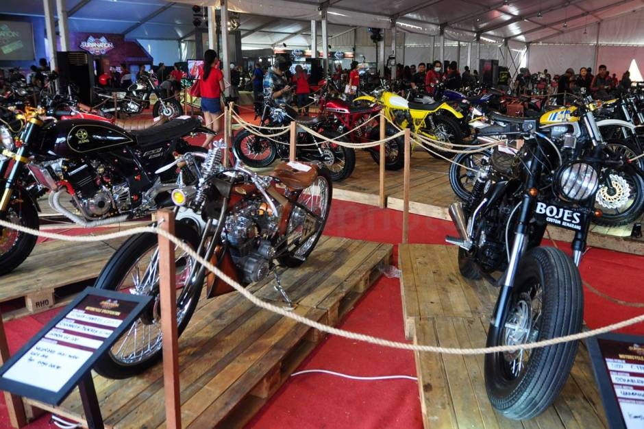 Ratusan Motor Modifikasi Ramaikan Custom Culture-6