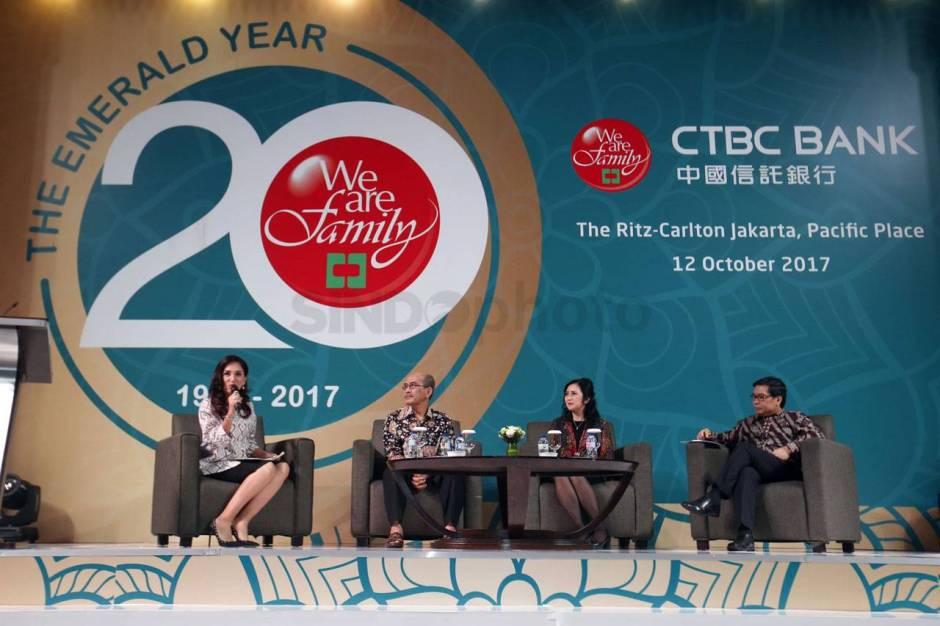 Bank CTBC Indonesia Gelar Economic Outlook 2018-4