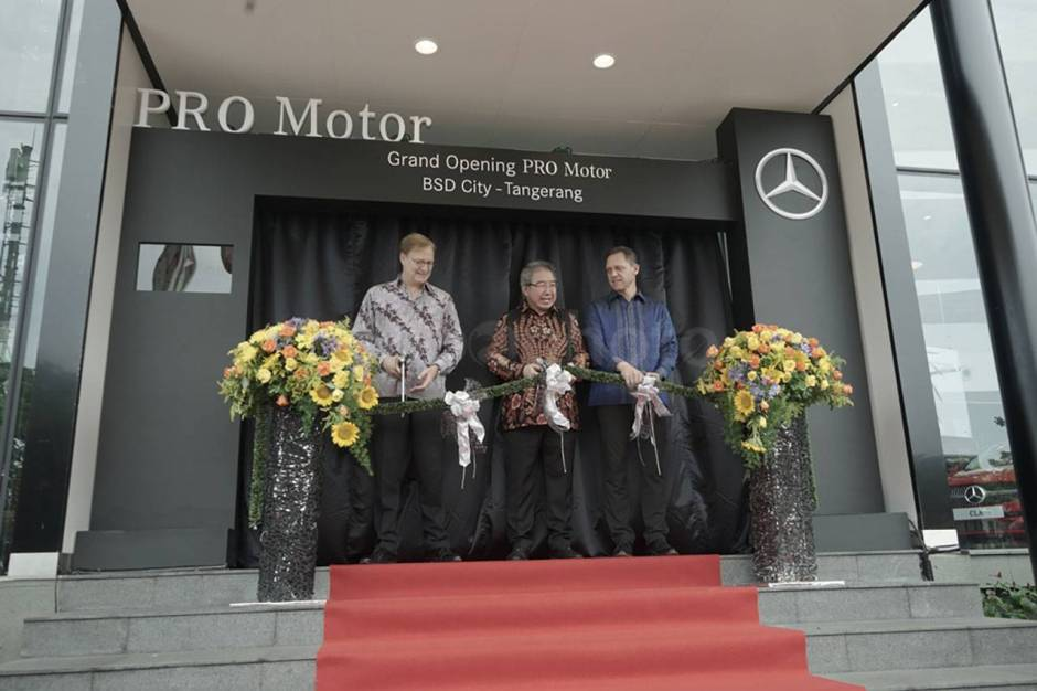 Mercedes-Benz Indonesia Buka Dealer Baru di BSD-3