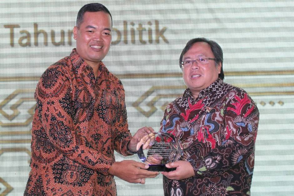 Menteri PPN Kepala Bappenas Hadiri Economic Investment Outlook 2018-3