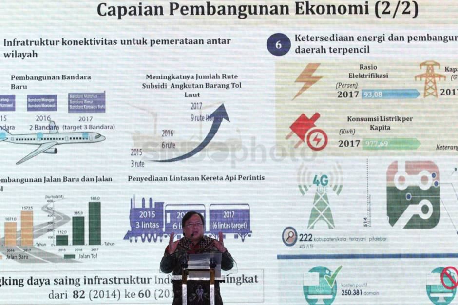 Menteri PPN Kepala Bappenas Hadiri Economic Investment Outlook 2018-4