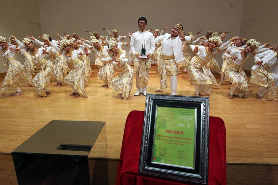 The Resonanz Childrens Choir Ukir Sejarah di Slovenia-3