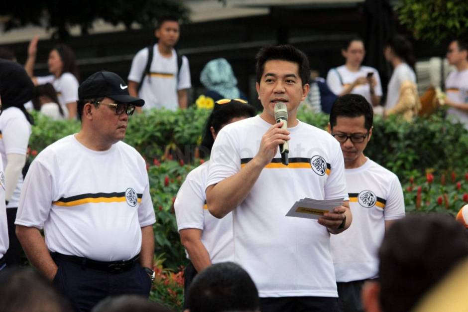 Rayakan HUT Ke 59 Maybank Indonesia Gelar Fun Walk-3