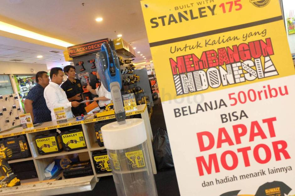 Gandeng Tokopedia Stanley Black and Decker Berikan Kredit Perkakas-2